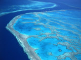 Hardy Reef, Queensland, Australia Photographic Print by David Ball