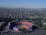 Shea Stadium, Aerial View, Ny Mets Photographic Print by Bruce Clarke