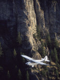 Husky Aviat A-1A Aircraft in Backcountry of Idaho Fotografie-Druck von Jim Oltersdorf