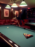 Racked Set of Balls, Boston Billiards, MA Photographic Print by John Coletti