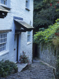 Clovelly Neighborhood, North Devon, England Photographie par Lauree Feldman