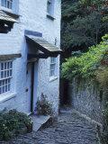 Clovelly Neighborhood, North Devon, England Fotoprint van Lauree Feldman