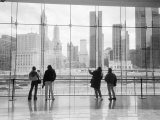 Looking at Ground Zero, Lower Manhattan, NYC Photographic Print by Walter Bibikow