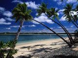 La Fijian Resort, Shangri, Yanuca, Viti Levu Photographic Print by Walter Bibikow