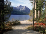 Sawtooth Mountains, ID, Stanley Lake Photographic Print by Mark Gibson