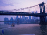 Manhattan Bridge, NYC Photographic Print by Barry Winiker