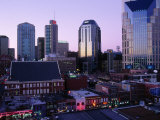 Music Row, Ryman Auditorium and Skyline Photographic Print by Barry Winiker