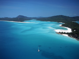 Whitehaven Beach, Queensland, Australia Photographic Print by David Ball