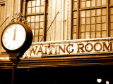 Entrance to Waiting Room of Historic Train Station Photographic Print by John Coletti