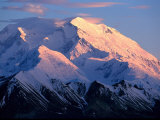Sunset at Mt. Mckinley, Denali National Park, AK Photographic Print by Hal Gage