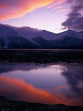 Sunset on Turnagain Arm, South Central Alaska Photographic Print by Hal Gage
