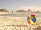 Copacabana Beach, Rio de Janeiro, Brazil Photographic Print by Silvestre Machado