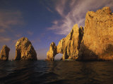 Rock Formations, Cabo San Lucas, Mexico Photographic Print by Walter Bibikow