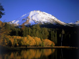 Mt. Lassen and Manzanita Lake, California Photographic Print by Jim Corwin