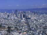 View of San Francisco Cityscape, California Photographic Print by Jim Corwin
