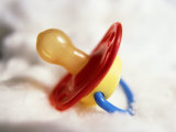 Close-up of Baby's Pacifier Photographic Print by Terry Why
