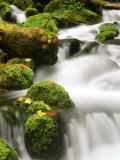 Waterfall Over Rocks Photographic Print by Stuart Westmorland