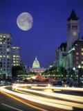 US Capital Building, Washington, DC Fotografisk tryk af Terry Why