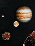 Jupiter with 4 Moons - ©Spaceshots