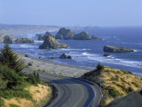 Highway 101 Near Cape Sebastian, Oregon Photographic Print by Jim Corwin