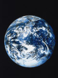 View of Earth from Space Photographic Print by Robert Cattan