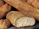 Loaves of Bread Photographic Print by Leslie Harris