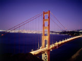 Golden Gate Bridge, San Francisco, CA Photographic Print by Richard Stockton