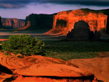 Mystery Valley, Monument Valley, AZ Photographic Print by Russell Burden