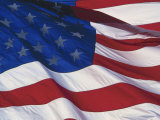 Close-up of American Flag Photographic Print by Eunice Harris