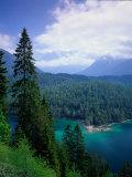 Sonnenspitze & the Wetterstein, Tyrol, Austria Photographic Print by Walter Bibikow