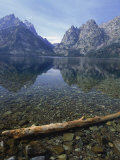 Jenny Lake, Grand Teton National Park, WY Photographie par Allen Russell