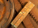 Dilapidated Work Tools Photographic Print by Terry Why