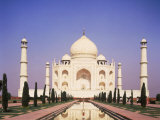 Uttar Pradesh, Agra Taj Mahal, India Photographic Print by Dave Jacobs