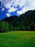 Otztal-Otz Valley, Tyrol, Austria Photographic Print by Walter Bibikow