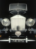 Front End of Old Rolls Royce Photographic Print by Rick Kooker