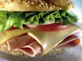 Close-up of Sandwich Fotografie-Druck von ATU Studios
