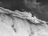 S. Florida, Woman Playing in Surf Photographic Print by Pat Canova