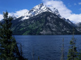 Mountain and Lake, Grand Teton National Park, WY Photographic Print by Chris Rogers