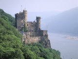 Burg Rheinstein, Rhine Valley, Germany Photographic Print by Walter Bibikow
