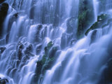 Ramona Falls Over Rocks, Mt. Hood National Forest, Oregon Photographic Print by Jim Corwin