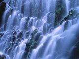 Ramona Falls Over Rocks, Mt. Hood National Forest, Oregon Photographic Print by Jim Corwin