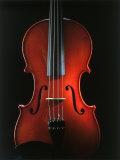 Close-up of a Violin Fotoprint van James Morris