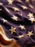 Vintage American Flag Photographic Print by Joseph Hancock