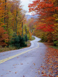 Hollywood Rd at Route 28, Adirondack Mountains, NY Photographic Print by Jim Schwabel