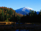 Early Snow on Whiteface Mountains  Adirondack St Park