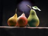 Trois poires Reproduction photographique par  ATU Studios