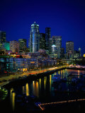 New Marina WAterfront, Seattle, WA Photographic Print by Jim Corwin