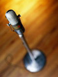 Microphone on Stage Photographic Print by Joseph Hancock