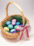 Easter Basket Photographic Print by Peter Ardito
