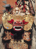 Indonesian Mask, Indonesia Photographic Print by David Ball